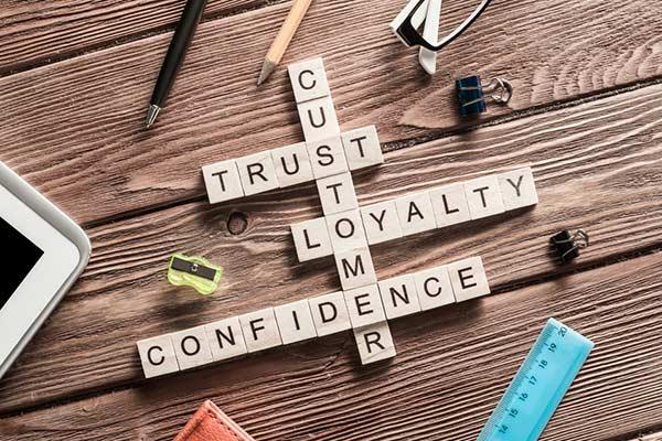 cutomer trust