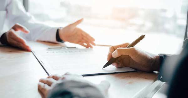 write an agreement